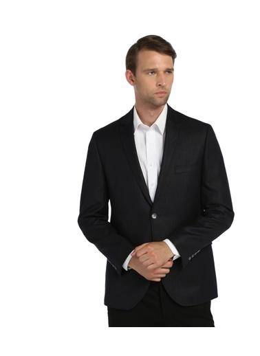 Comienzo Klasik Ceket Lacivert